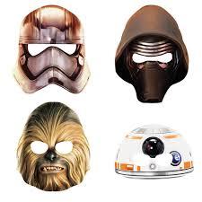 paper halloween mask star wars paper masks dons hobby shop