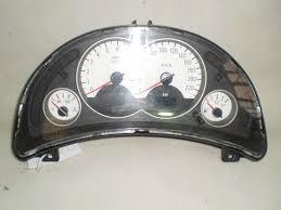 holden barina instrument cluster xc hatch sri white faced 01 05
