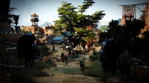 wallpaper hd black desert online black desert village 3d graphics games 3840x2160