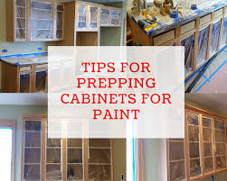 how to clean tough grease on kitchen cabinets tips for prepping cabinets for paint dengarden
