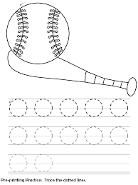 line tracing sheets circles kids program learning activities