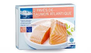 cuisiner saumon congelé 2 pavés de saumon atlantique surgelés les poissons crustacés