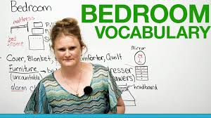 english vocabulary in the bedroom youtube