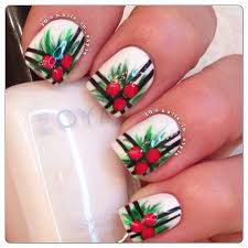 175 best christmas nail art images on pinterest christmas nails