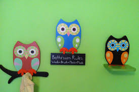 Cute Bathroom Sets by Owl Themed Bathroom Decor