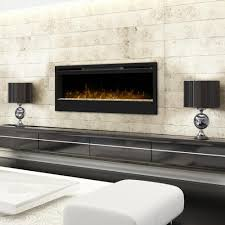 dimplex synergy 50 inch wall mount electric fireplace glass