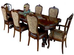 9 pieces dining room sets furniture dining table and chair set elegant 9 piece old world