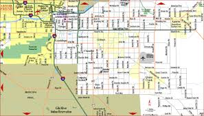 phx map road map of metro east arizona aaccessmaps com