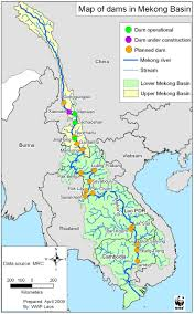 Map Of China Rivers by Emergency Meeting Of The Mekong River Commission Urgently Needed