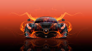 orange ferrari ferrari laferrari front super fire flame abstract car 2016