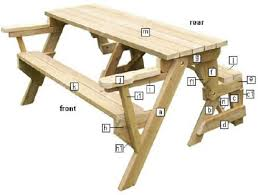 Plans For Building Picnic Table Bench by Free Woodworking Plans To Download U2014 Top Wood Plans
