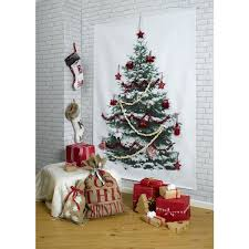wall christmas tree diy christmas trees 30 most creative hongkiat