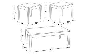 Art Coronado Bedroom Set by Coronado Bay Pine 3 Pc Table Set Table Sets Dark Wood