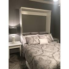 Queen Size Murphy Beds Queen Andrew Pearl White Queen Size Murphy Bed With Desk Free