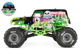 rc bigfoot monster truck press release axial unveils the smt10 grave digger monster truck