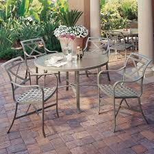 palladian cafe cast aluminum patio furniture tropitone