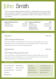 template of professional cv basic cv templates cv and cover letter template 104scr
