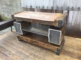 Buy Buffet Table Buy A Hand Crafted Rustic Industrial Wine Bar Buffet Table Made