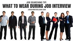 job searching tip what to wear during job interview