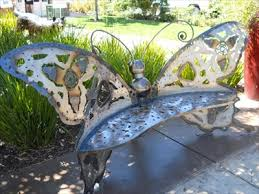 Butterfly Bench Butterfly Bench Roseville Ca Artistic Seating On Waymarking Com