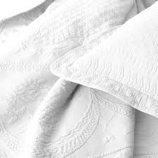 King Size White Coverlet Bedrooms Matelasse Coverlet White Coverlets King Matelasse