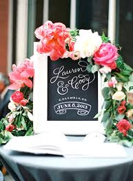 wedding signing wedding sign in table decorations chalkboard decor ideas signing