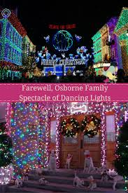 The Dancing Lights Of Christmas by Farewell Osborne Family Spectacle Of Dancing Lights Carrie On