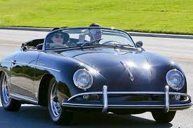 maroon porsche levine spotted in his immaculate porsche 356a