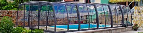 high line retractable pool enclosures and pool covers sunrooms