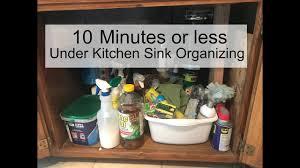 Under Kitchen Sink Organizer by Under Kitchen Sink Organizing Youtube