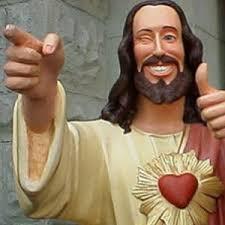 Buddy Christ Meme - buddy jesus meme generator christian traditions