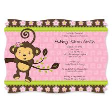 baby monkey decorations baby shower home decorating interior
