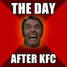 Kfc Memes - the day after kfc create meme