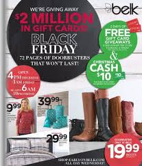 when does target black friday online sale starts belk has released its 2016 black friday ad doors will open at 4