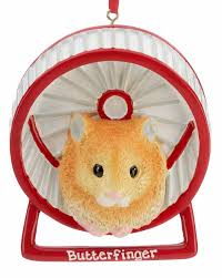 hamster personalized ornament