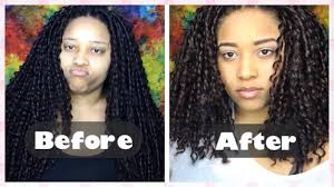 how to cut and style crochet braids youtube
