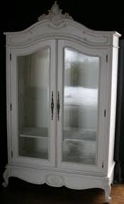 Armoire With Glass Doors Reproduction French Armoire Riverside Furniture