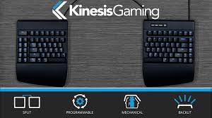 Kickstarter Gaming Desk Freestyle Edge The Ultimate Split Gaming Keyboard By Kinesis
