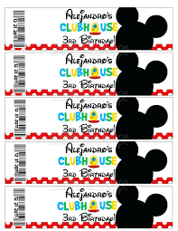free mickey mouse baby shower invitation templates images