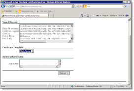 generating and installing an ssl certificate with active directory