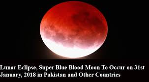 light in sky today special lunar eclipse super blue blood moon to light up sky today
