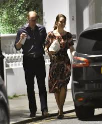 prince william and kate middleton leaving pippa u0027s house 2017
