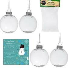 diy fill able shatterproof clear plastic ornaments 4