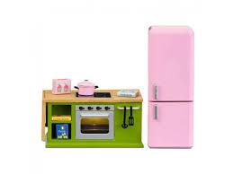 dolls house kitchen furniture lundby smaland 1 18 kitchen furniture cooker oven fridge set