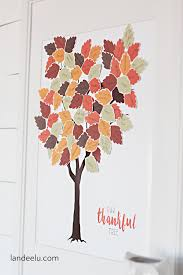Thankful Tree Craft For Kids - mindfulness for children u2014 gratitude tree for thanksgiving