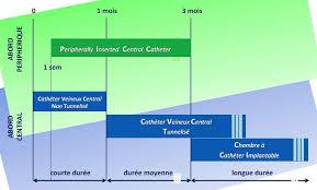 chambre à cathéter implantable voies veineuses centrales picc line
