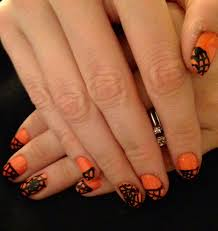 halloween month 2013 tutorial spider webs nails for nickels
