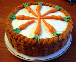 Easter Decorated Carrot Cake by Carrot Cake With A Basket Weave Spring Easter With Kids