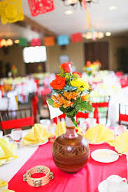 themed decorations best 25 mexican centerpiece ideas on