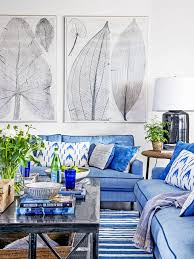 Blue And White Wallpaper by Blue And White Rooms Decorating With Blue And White